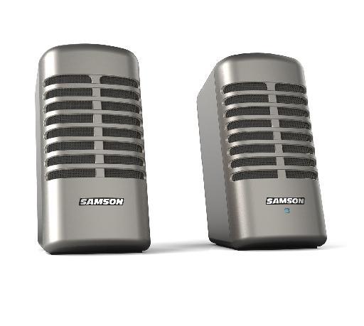Fig 2 The Samson Meteor M2 speakers