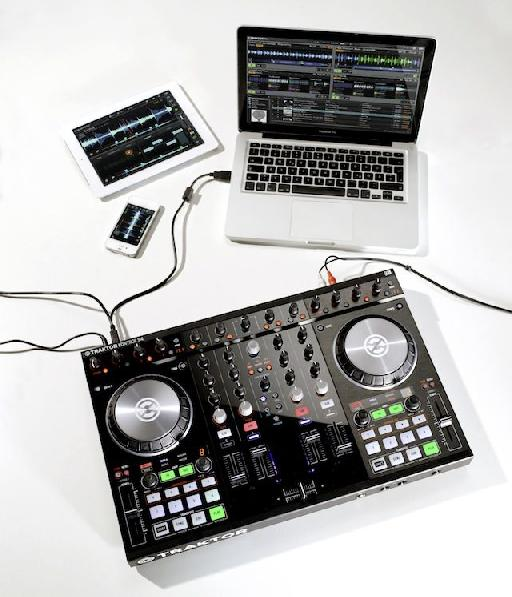 The S4 (pictured) and S2 are plug and play compatible with Traktor Pro (Mac/PC) and Traktor DJ (iPhone/iPad).
