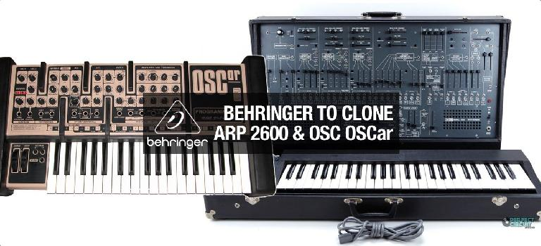 Behringer are planning on cloning the ARP2600 and OSCar