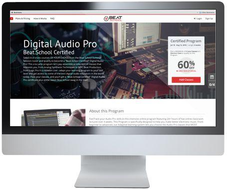 Beat.School website
