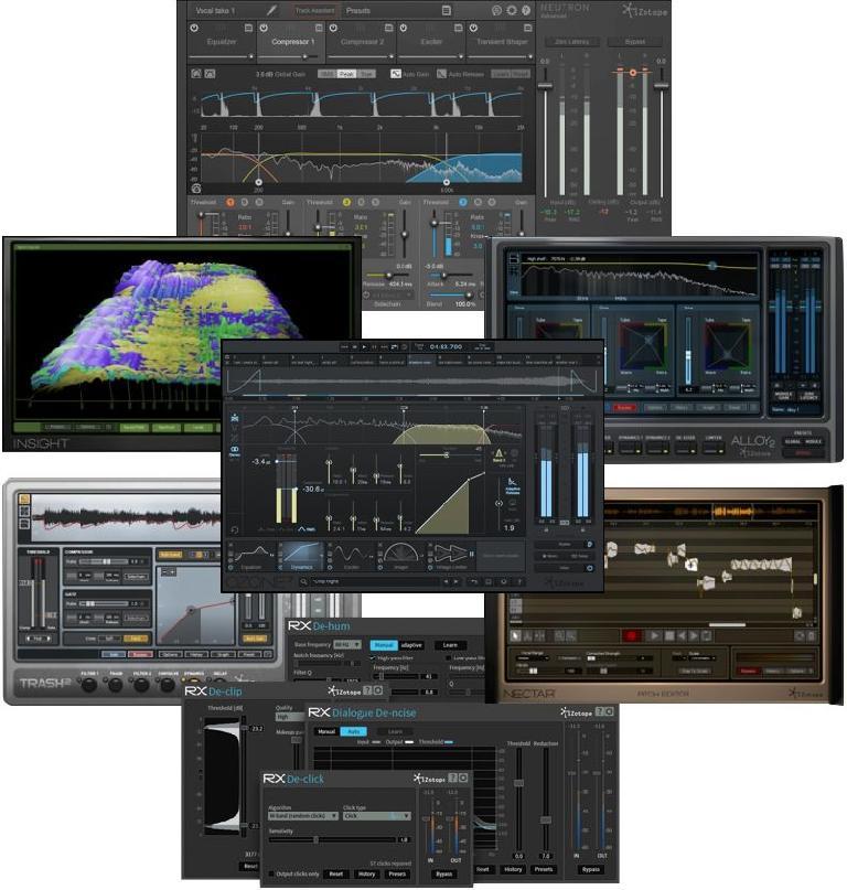 iZotope's Music Production bundle