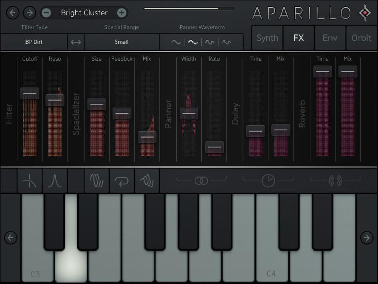 Sugar Bytes Aparillo for iPad 2