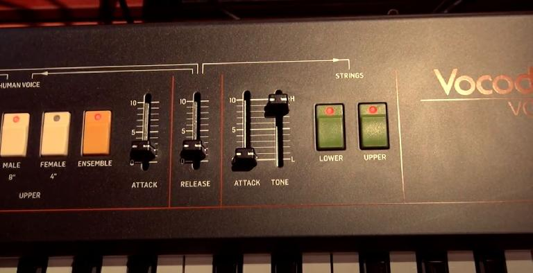 Behringer VC-340 close up 3