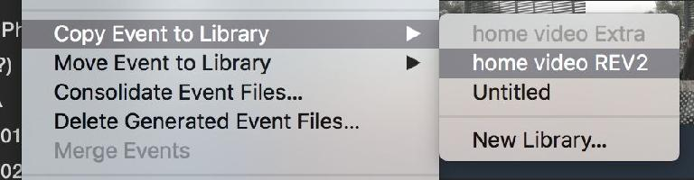 You can use commands in the File menu if you'd rather not drag and drop