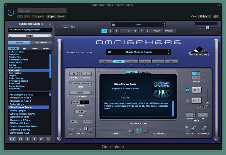 Spectrasonics Keyscape Creative GUI 2