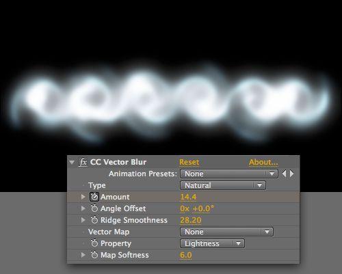 Adding a Vector Blur