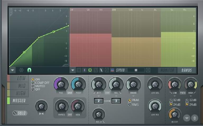 Master band compression