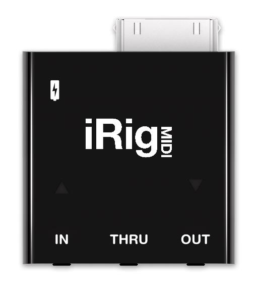 The main iRig MIDI unit