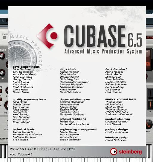 Cubase 6.5 is good to go!
