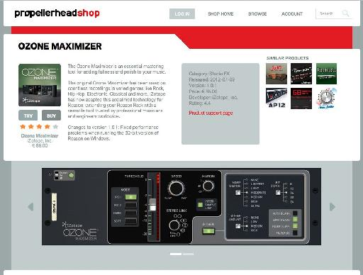 Check out rack extensions like the Ozone maximizer.