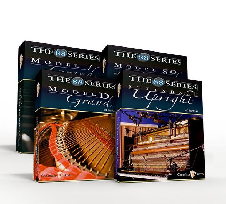 Chocolate Audio 88 Series Piano Collection
