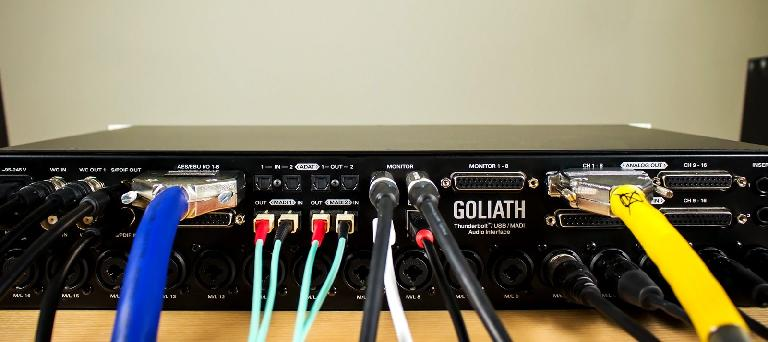 Antelope Audio Goliath I/O