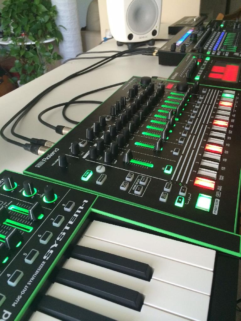 AIRA System 1 and TR-8