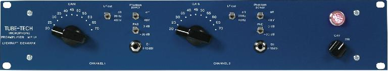 Fig 2 A Tube-Tech MP-1A preamp
