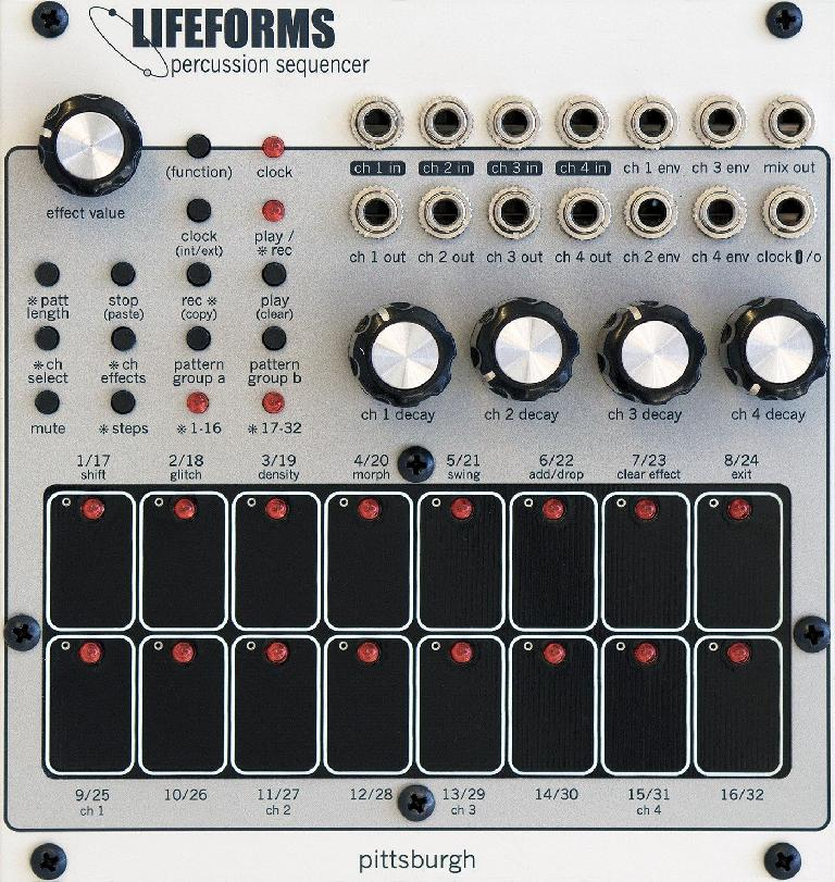 Pittsburgh Modular Percussion Sequencer Drum Machine