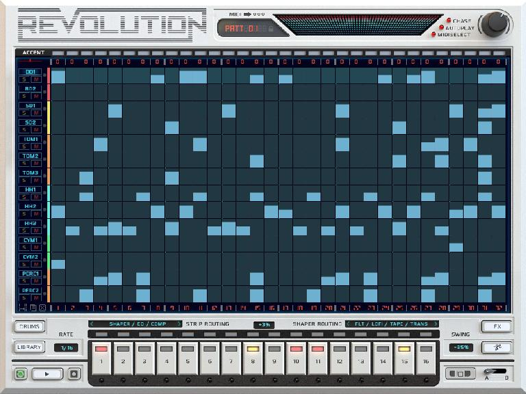 Pic 4: Sequencer editing.