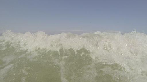 This shot, in 2.7K ProTune, might not be perfect, but I wasn't going to take my Blackmagic Cinema Camera into the surf.