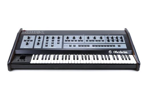 The Oberheim OB-X: one of the first polyphonic synthesizers. (Photo courtesy PerfectCircuitAudio.com)