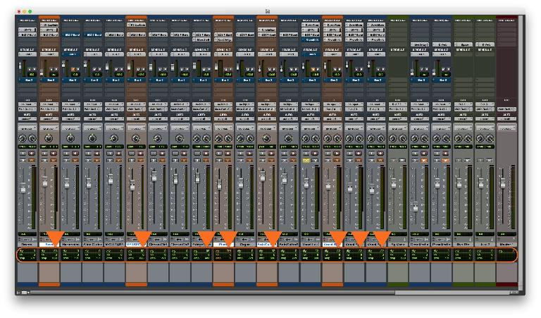 Fig 2 Pro Tools' Latency display