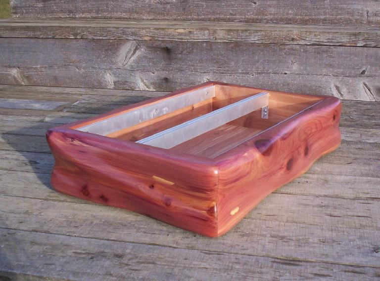 Scentury Cedar sells custom wood cases on Etsy