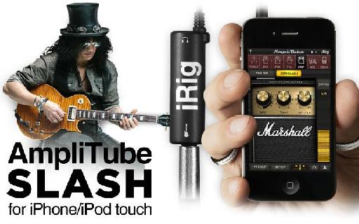 The guitaring genius of Slash in the palm of your hand!