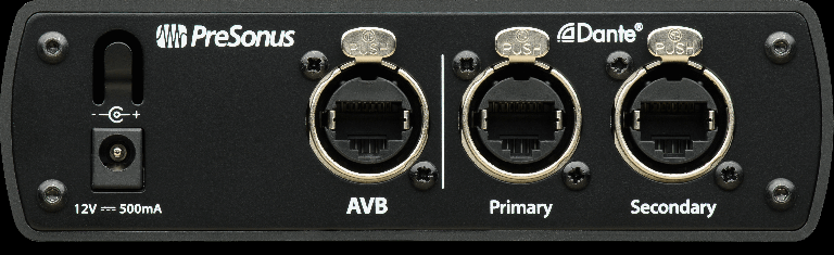 PreSonus AVB-D16 rear