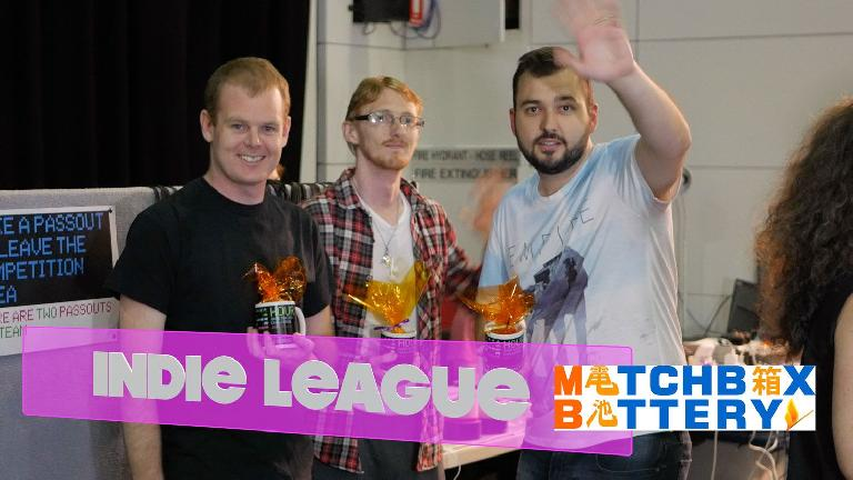 Congratulations to Matchbox Battery and their winning VR game.