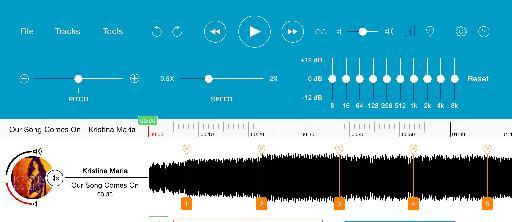Figure 4 – Audio Effects in Notetracks