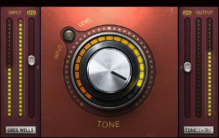Waves Audio Greg Wells ToneCentric mixing plug-in.