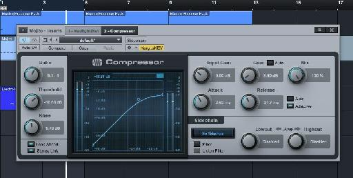 Set the Ratio to about 5:1 on the compressor.
