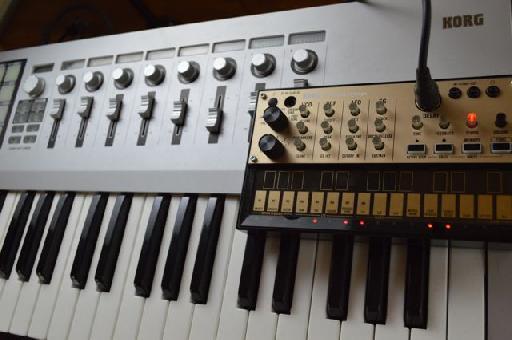 Using a MIDI controller