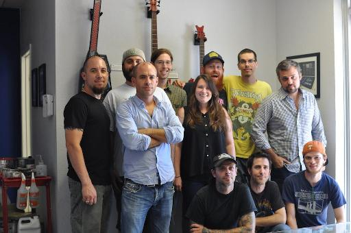 The team responsible for your Livid controllers. Happy bunch, aren't they!