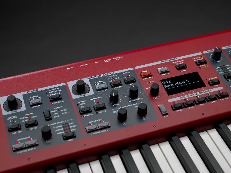 Nord Piano 5 close up 2