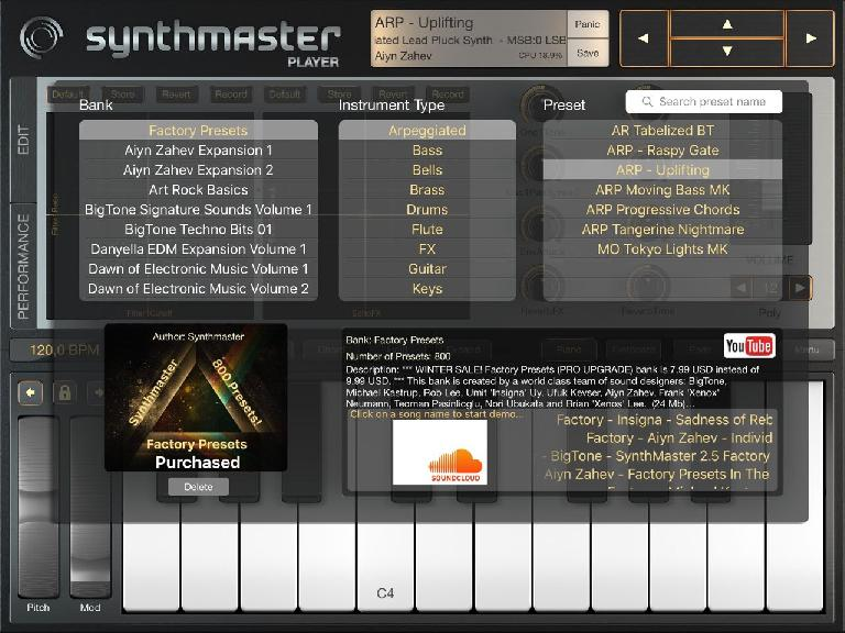 SynthMaster 2 for iPad, pic 2