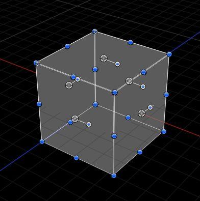 Bland 3D cube