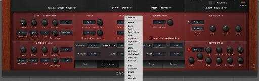 Diva has some great effects and modulation options