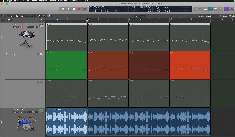 Logic Pro Track Alternatives