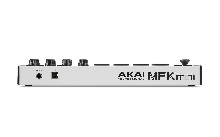 Akai MPK Mini MK3 rear view