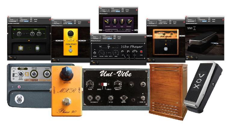 The 6 modulation effects, and the analog originals