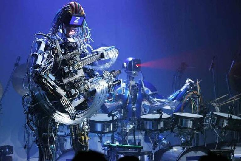 The Z-Machines robot band.