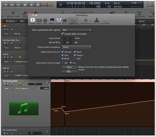 4. Single MIDI Knob/Slider to Control Selected Automation