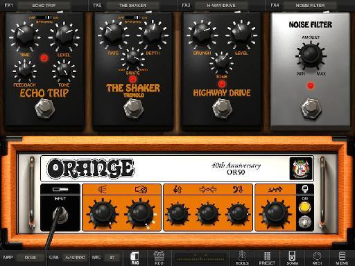AmpliTube Orange app