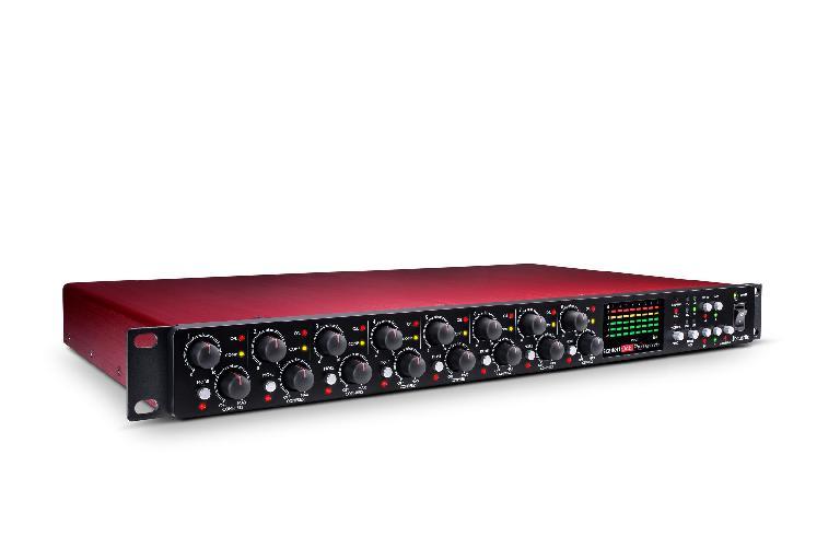 Focusrite Scarlett OctoPre Dynamic eight-channel mic-pre unit