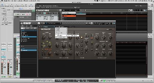 Monark initialized and loaded into Reaktor