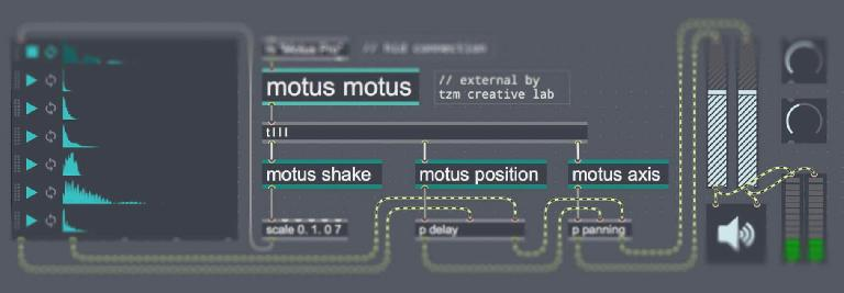 Make your own instruments for Motus using Max.
