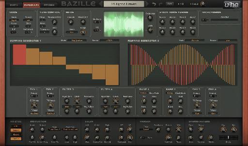 u-he Bazille digital modular synth