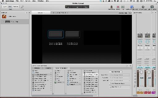 Screen control setup