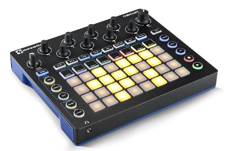 Novation Circuit is designed to help you build entire tracks quickly and intuitively.