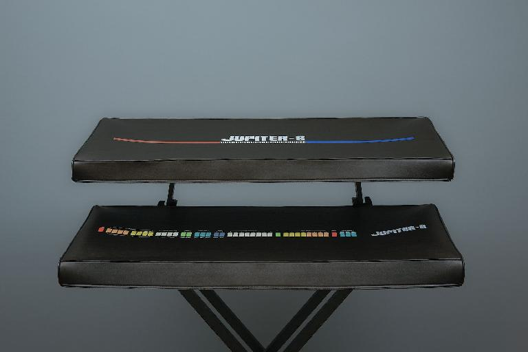 Stardust synth covers for the Roland Jupiter 6 and Jupiter 8.