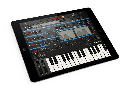 Arturia iProphet for iPad image.